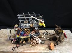 """Cart Before the Horse"" Shari Clemans"