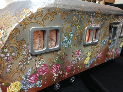 Hand Painted Trailer, Buff Greaney