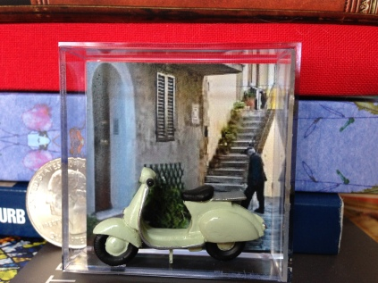 Quarter Scale Vespa, Young at Heart Miniatures
