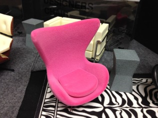 Suede Egg Chair, Designing Ways