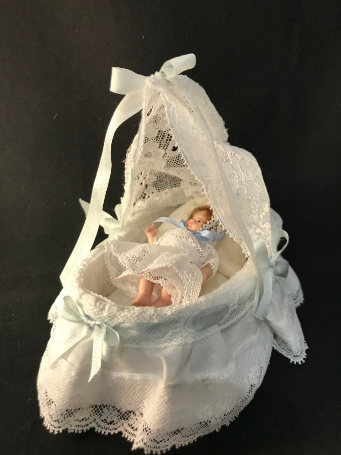 Workshop Porcelain Baby In A Draped Crib Maria Ray Instructor